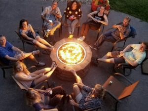 The Gold Miners Membership campfire
