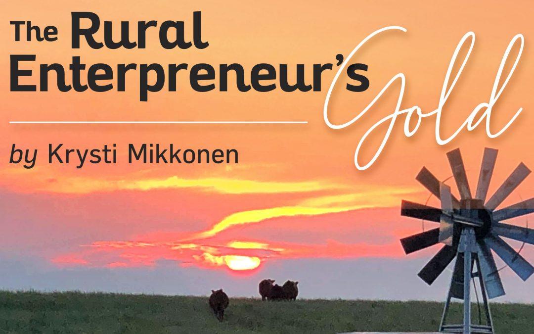 rural entrepreneurs gold podcast cover