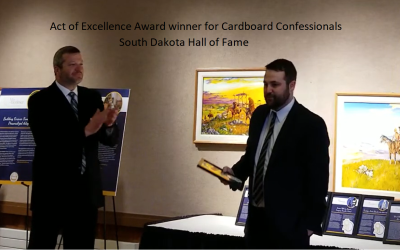 Author Mitch Reed – Cardboard Confessionals