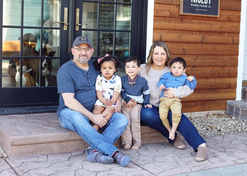 Tate and Maria Bosak family